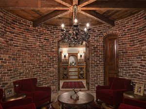 Luxury home wine cellar minnetonka mn