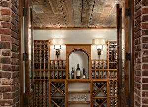 Minnetonka MN Custom Home Wine Cellar