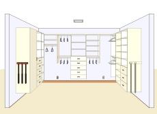 3d Custom Closet Cad2