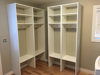 Mudroom Lockers & Mudroom Storage in Edina