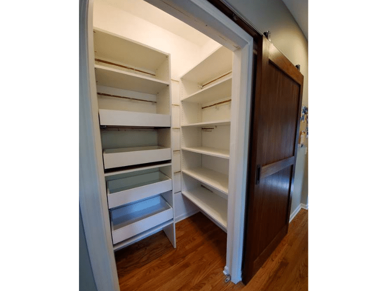 kitchen pantry shelves & pull out shelves MN