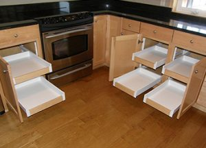 Pull out kitchen shelves Minneapolis St. Paul Apple Valley MN