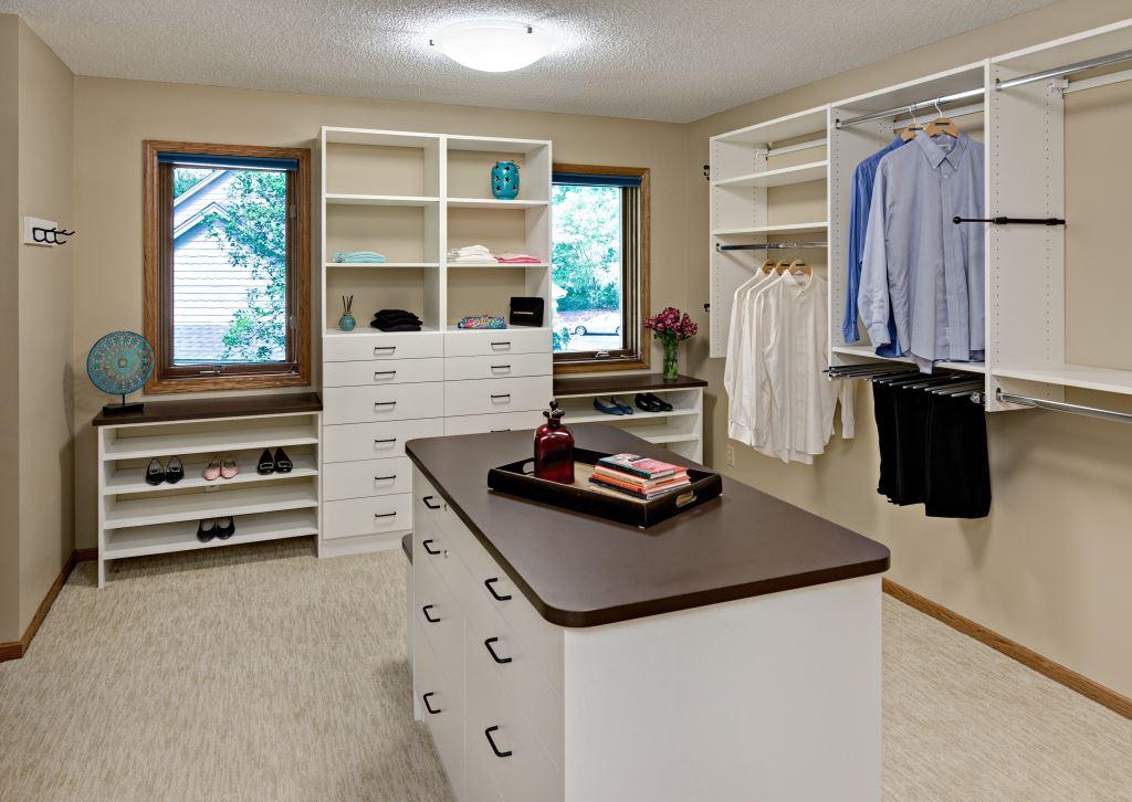 Shoe Storage & Organization Custom Closet Orono MN