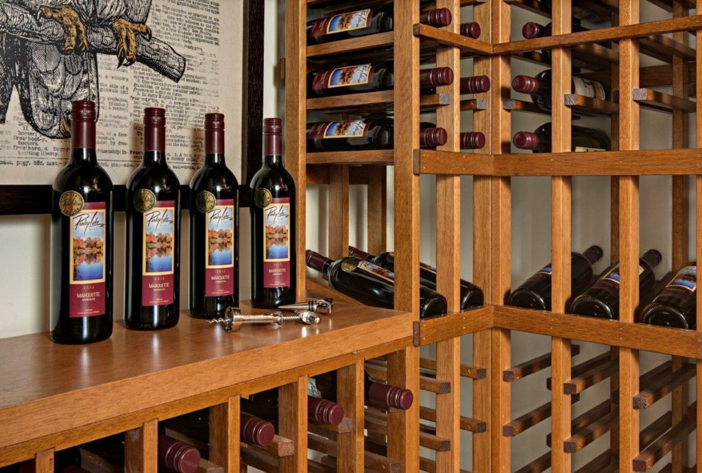 Home wine cellar & wine racking
