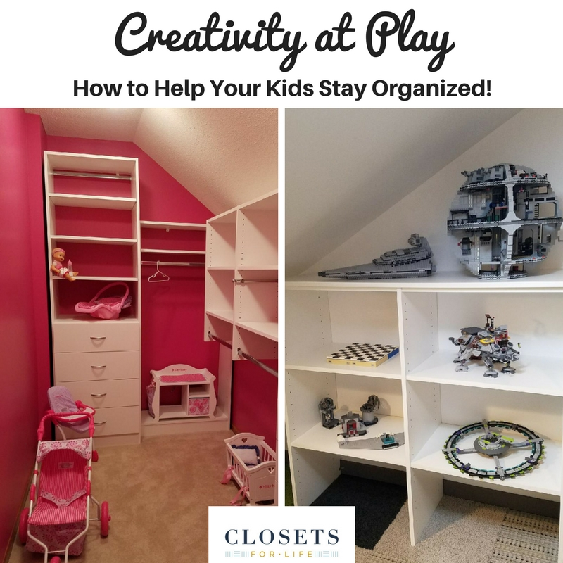 Childrens Room Organizaton