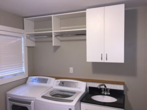 Condo Laundry Room Storage