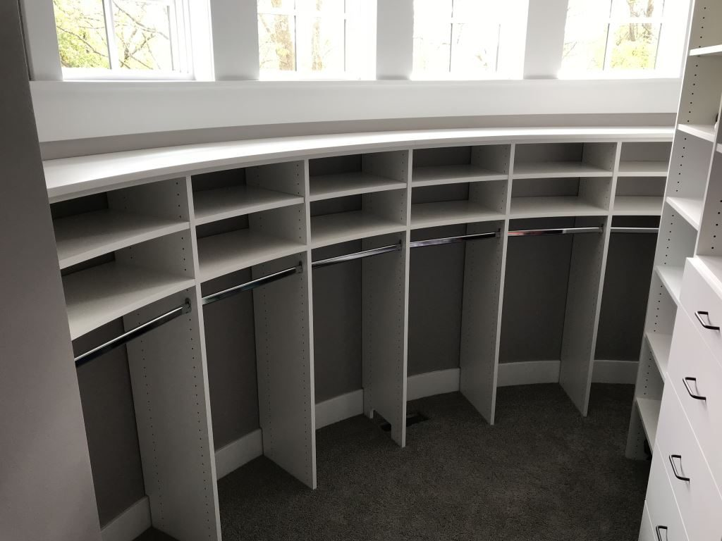 Curved Wall Closet