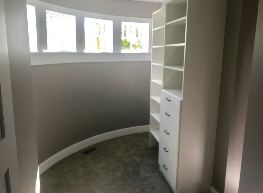 Curved Closet Walls? Getting Creative With Closet Design -