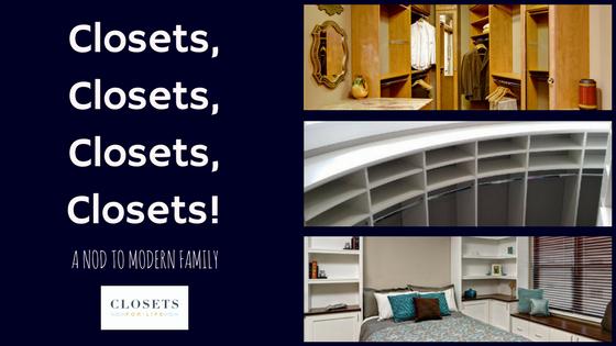 Closets, Closets, Closets, CLosets Blog Header