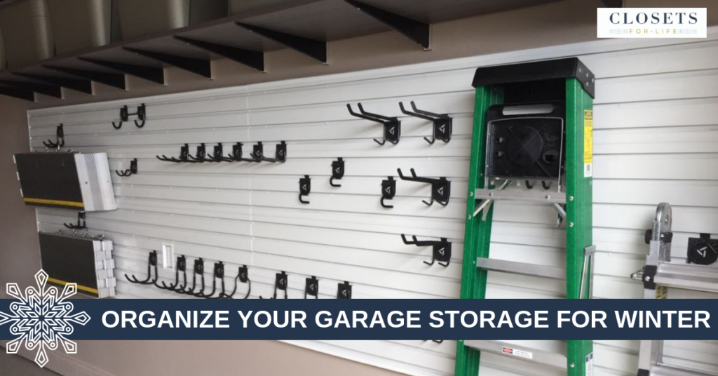 organize your garage storage for winter blog header
