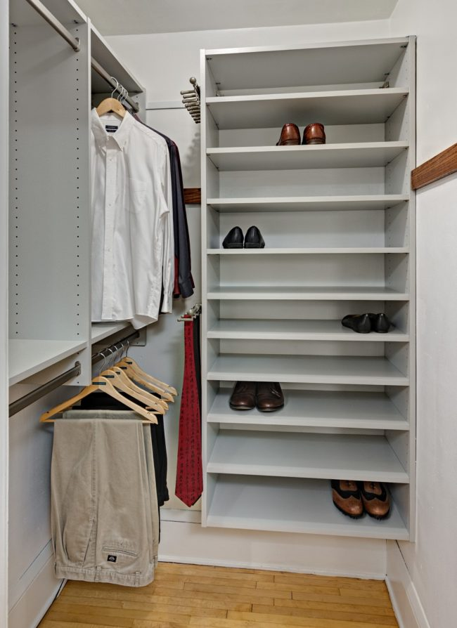 Minneapolis Custom Walk-in Closet - Existing closet SMALL