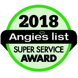 Angies List 2018 Super Service Award