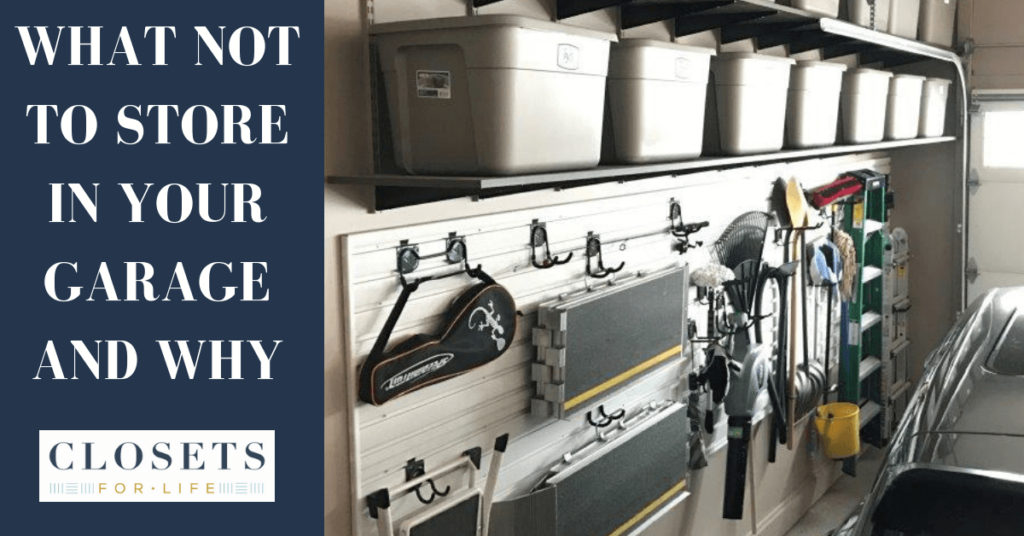 What Not to Store in Your Garage and Why