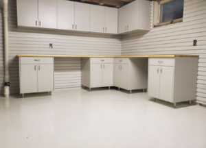 Burnsville MN Workshop Cabinetry and Storage