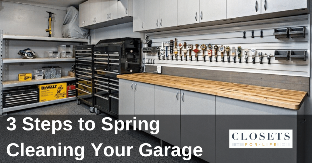 Three steps to spring cleaning your Edina garage