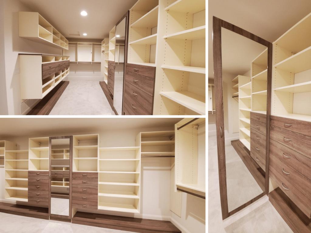 Modern Custom Closet System Eden Prairie MN