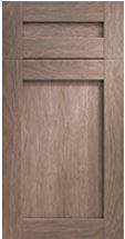 SH502 Flat - Closet Cabinet Door Styles Minneapolis St. Paul MN