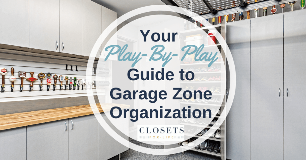YOUR PLAY BY PLAY GUIDE TO GARAGE ZONE ORGANIZATION Lakeville MN