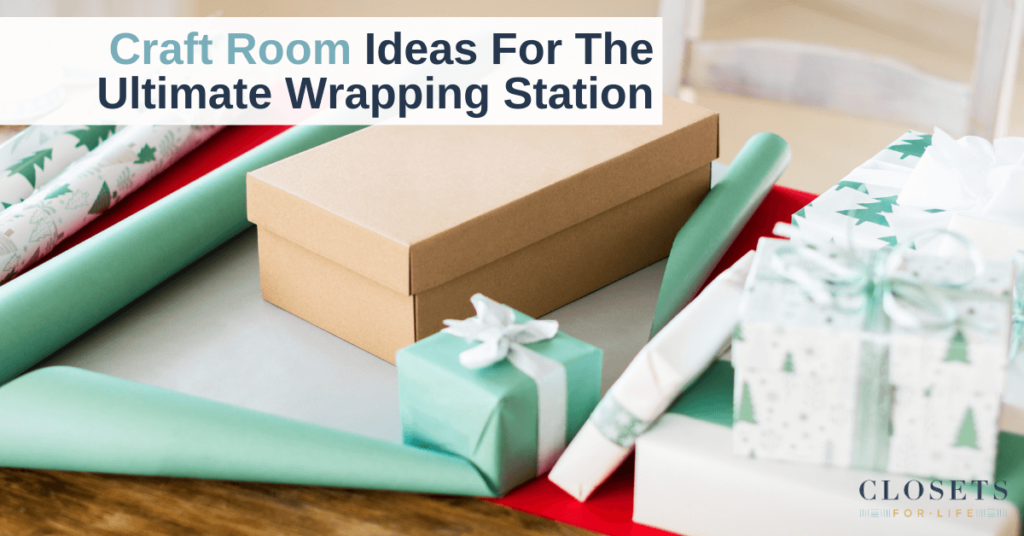 Craft Room Ideas Wrapping Station Minneapolis St. Paul
