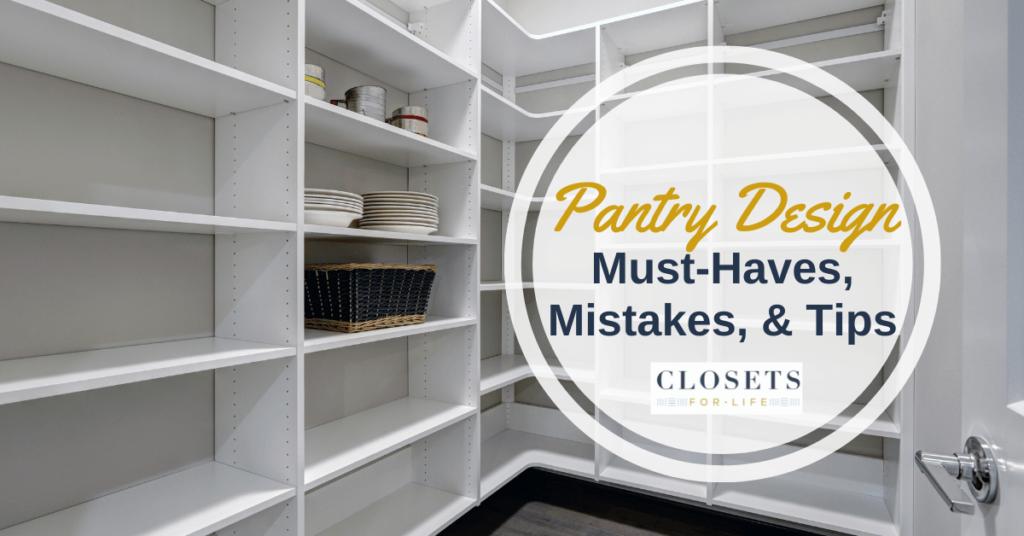 Kitchen Pantry storage & shelving Tips Minneapolis St. Paul MN