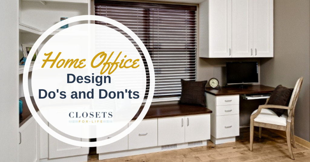 Home Office Design in Woodbury, MN